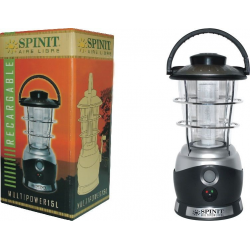 Farol Spinit Multipower 20 Leds Recargable