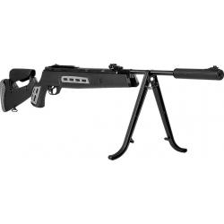 Rifle Hatsan 125 Sniper Negro 1250 Fps Aire Comprimido