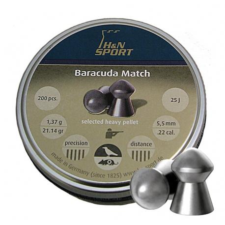 7b6a455ac Balines HN 5.5 mm Baracuda Match 200 un