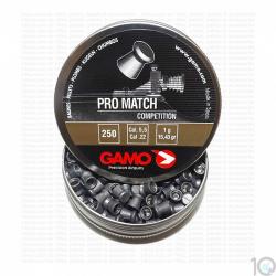 Balines Gamo 5.5 mm Pro Match 250 un