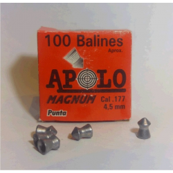 Balines Apolo 4.5 mm Magnum 100 un