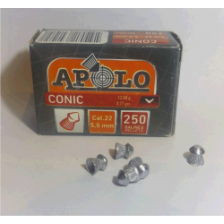 Balines Apolo 5.5 mm Conico 250 un