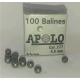 Balines Apolo 4.5 mm Esfericos 100 un