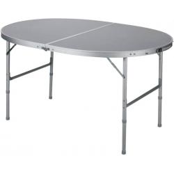 Mesa Bamboo Aluminio Plegable Oval