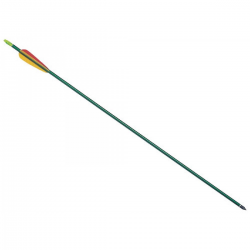 Flecha Leslie Arco D020 Aluminio 30 Verde