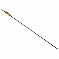 Flecha Leslie Arco D047 Fibra Vidrio 26 Negro