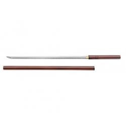 Katana Magnum Blind Samurai Largo 105 cm Shirasaya sin Tsuba