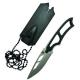 Cuchillo Bison 3062 Tactico con Silbato y Funda Plastica