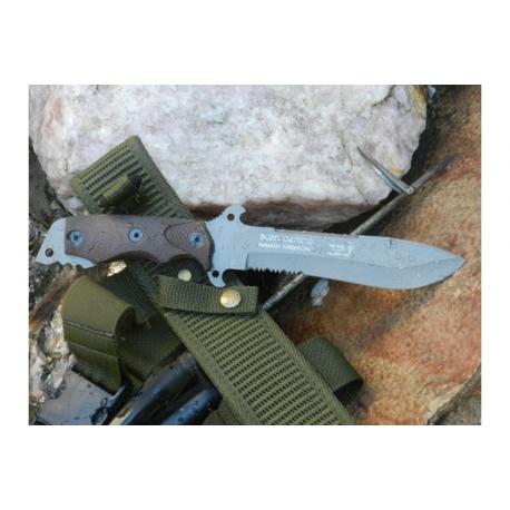 Cuchillo Yarara Buzo Tactico con Vaina para Buzos Tacticos Armada
