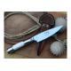Cuchillo Yarara Axis y Alpaca Hoja 12.5 cm con Vaina Acero Inox