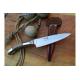 Cuchillo Yarara Cebu y Alpaca Hoja 12.5 cm con Vaina Acero Inox