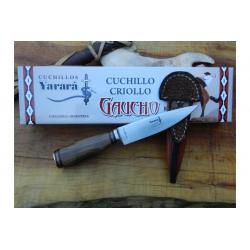 Cuchillo Yarara Guayubira Hoja 12.5 cm con Vaina Acero Inox