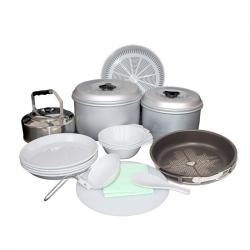 Marmita Doite 8522 Set Cocina para 4 Personas con base y pano