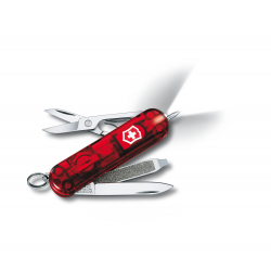Cortapluma Victorinox 0.6226.T Signature Lite Transp Roja 7 usos
