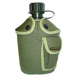 Cantimplora Spinit Plastica 1 lt con Funda Us Army