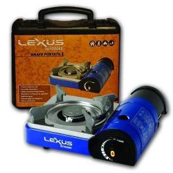 Anafe Lexus 2 Kw Cocina a Gas Butano Cartucho 1 Hornalla Azul
