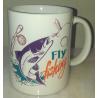 Taza Pesca Fly Fishing Mod 1 Importada